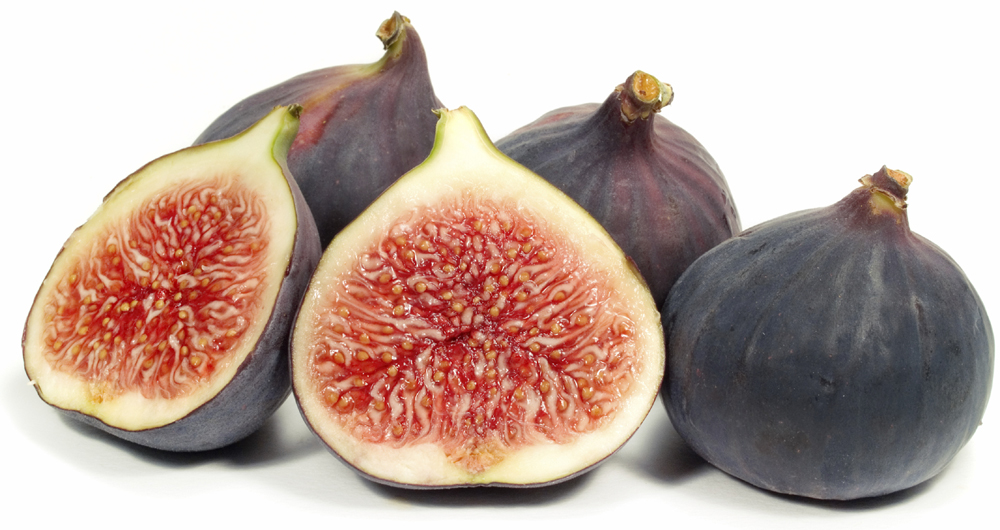 fresh raw figs